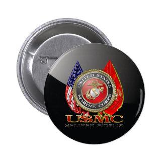 USMC Semper Fi [Special Edition] [3D] 6 Cm Round Badge