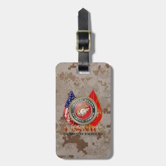 USMC Semper Fi [Special Edition] [3D] Bag Tag