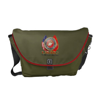USMC Semper Fi [Special Edition] [3D] Courier Bag