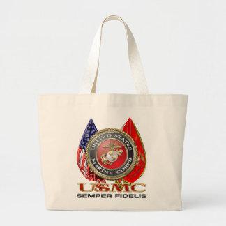 USMC Semper Fi [Special Edition] [3D] Jumbo Tote Bag