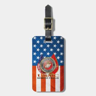 USMC Semper Fi Special Edition 3D Luggage Tags