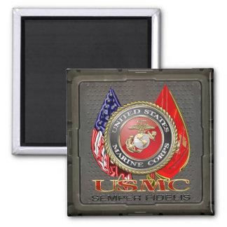 USMC Semper Fi Special Edition 3D Refrigerator Magnets