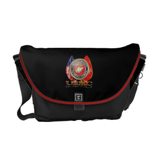 USMC Semper Fi [Special Edition] [3D] Messenger Bag