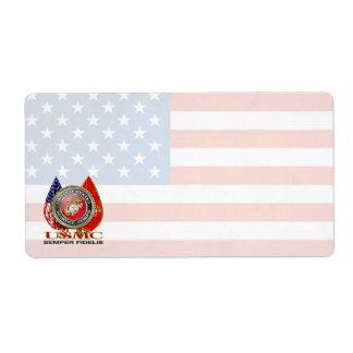 USMC Semper Fi [Special Edition] [3D] Shipping Label