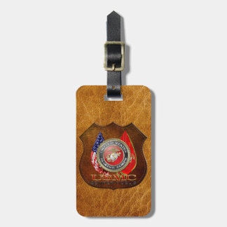 USMC Semper Fi Special Edition 3D Tags For Luggage