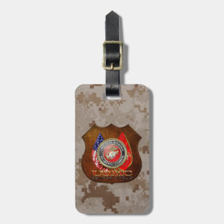 USMC Semper Fi Special Edition 3D Travel Bag Tag