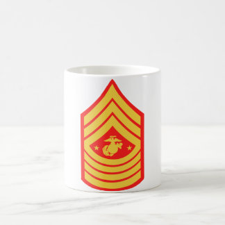USMC Sergeant Major of the Marine Corps Coffee Cup