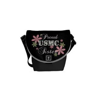 USMC Sister [fl camo] Courier Bags