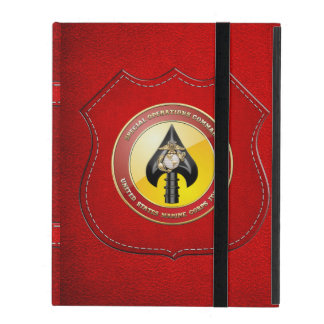 USMC Special Operations Command (MARSOC) [3D] iPad Case