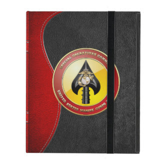USMC Special Operations Command (MARSOC) [3D] iPad Folio Case