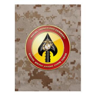 USMC Special Operations Command (MARSOC) [3D] Postcard