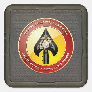 USMC Special Operations Command (MARSOC) [3D] Square Sticker