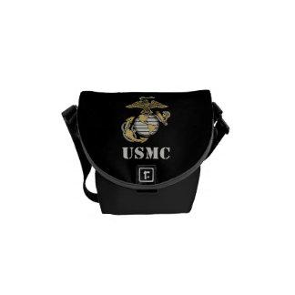 USMC [stencil] Commuter Bags