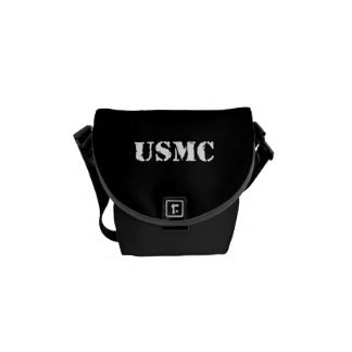 USMC [stencil text] Commuter Bag