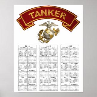 USMC TANKER POSTER
