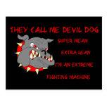 USMC They Call Me Devil Dog Post Card
