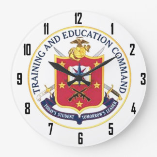 USMC TRAINING and EDUCATION COMMAND Clocks