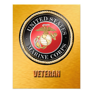 USMC Veteran Photo Enlargement