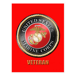 USMC Veteran Postcard