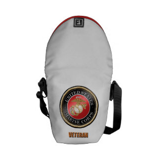 USMC Veteran Rickshaw Messenger Bag
