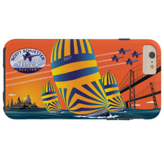 USNA Sunset Sail - S_Schuetter Tough iPhone 6 Plus Case