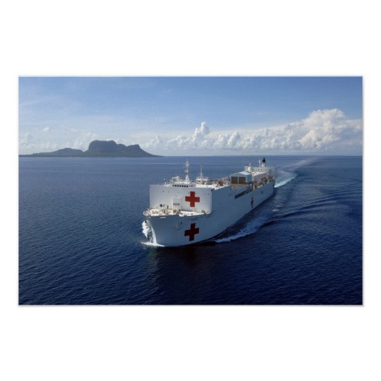 USNS MERCY POSTER