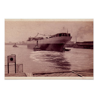 USNS Victorious Cargo vessel Posters