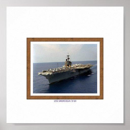 USS%20SARATOGA%20%20%20CV%2060 POSTER
