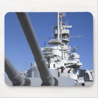 USS Alabama Battleship at Battleship Memorial Mouse Mat
