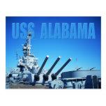 USS Alabama (BB-60), Mobile, AL Postcard
