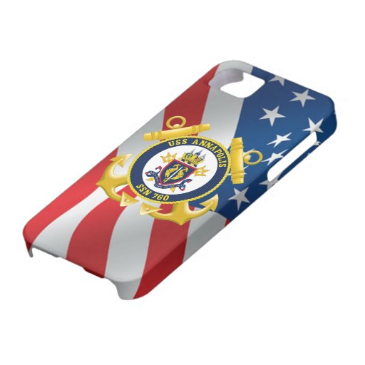USS Annapolis SSN 760 iPhone 5 Cases