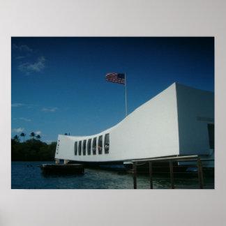 USS ARIZONA MEMORIAL POSTERS