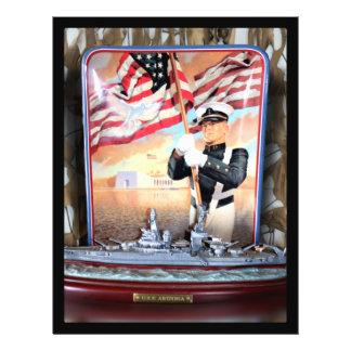 USS Arizona Tribute Flyer