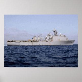 USS Ashland (LSD 48) Poster