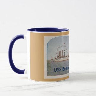 USS Battleship Ohio (BB12) Mug