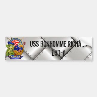 USS BHR LHD-6 bumper sticker