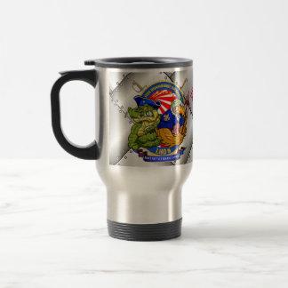 USS BHR LHD-6 living crest mug