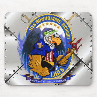 USS BHR LHD-6 mousepad