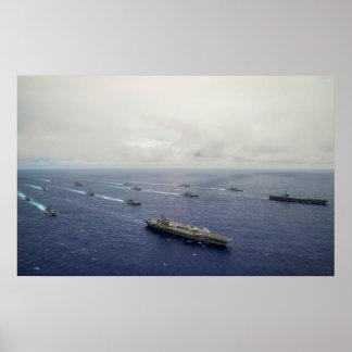 USS Carl Vinson (CVN 70) Poster