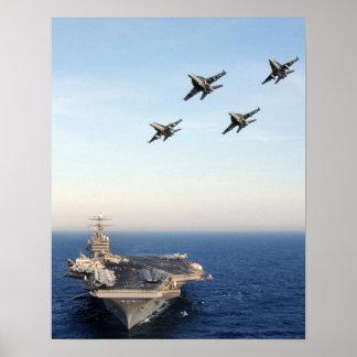 USS Carl Vinson Poster