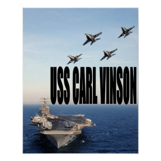 USS Carl Vinson Posters