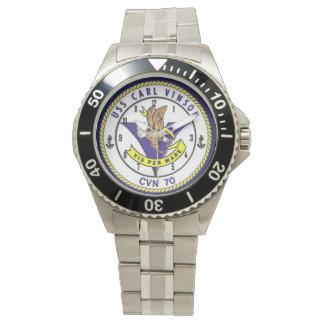 USS CARL VINSON WRIST WATCHES