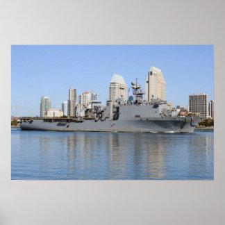 USS Comstock (LSD 45) Poster
