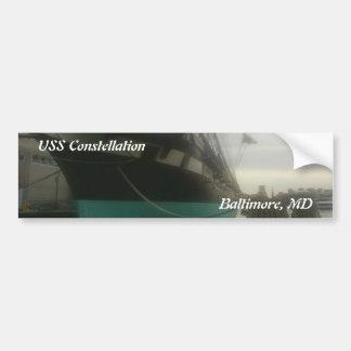 USS Constellation Bumper Sticker