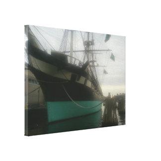 USS Constellation Canvas Prints