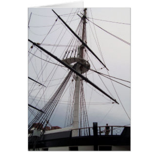 USS Constitution card