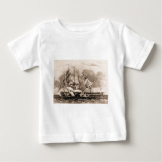 USS Constitution in action Tee Shirt