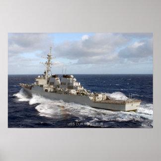 USS Curtis Wilbur (DDG 54) Print