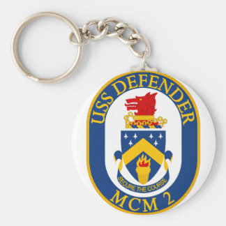 USS Defender - MCM 2 - Secure The Course Keychains