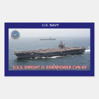 USS Dwight D Eisenhower CVN-69 Sticker